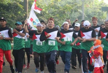 "Galang Solidaritas lewat Olahraga, KNRP Gelar ""Fun Run For Palestine"""