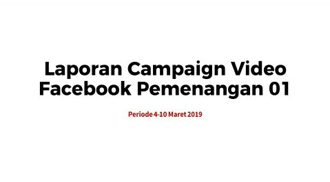 Strategi Jahat Kampanye Video Paslon 01 Bocor?