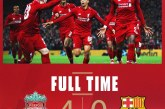 Barcelona Menang Quick Count, Liverpool Menang Real Count
