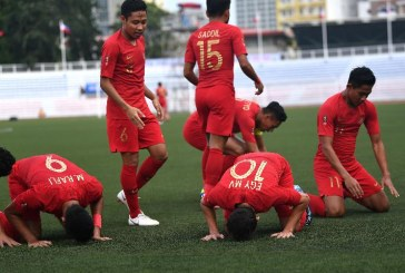 Libas Myanmar 4-2, Indonesia Maju ke Final Sea Games 2019